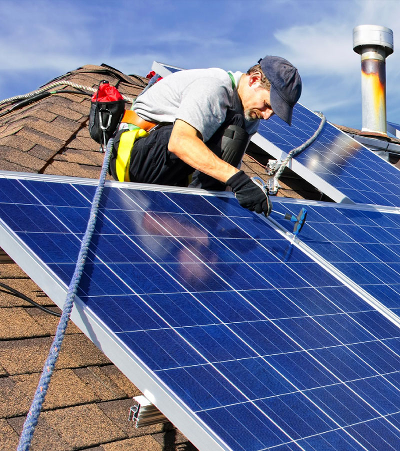 Solar power strengthens our local economies, not only providing savings on energy costs but creating good jobs.