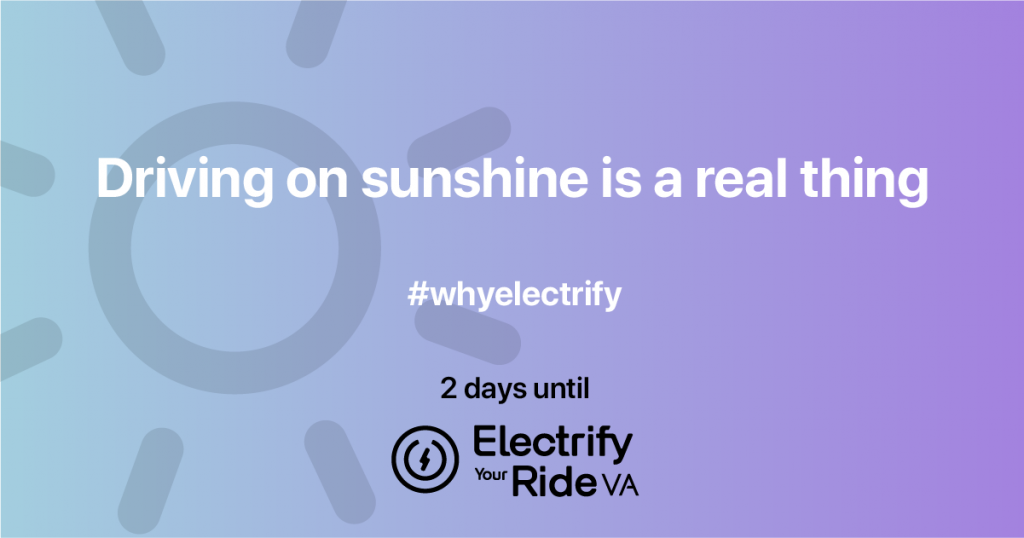 Electric cars: driving on sunshine is a real thing