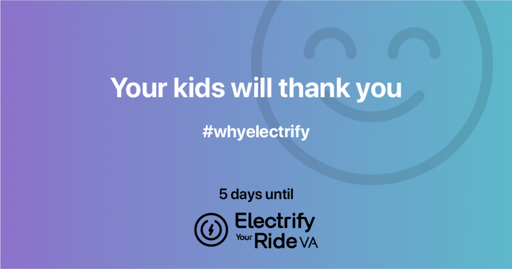 Electric cars: your kids will thank you