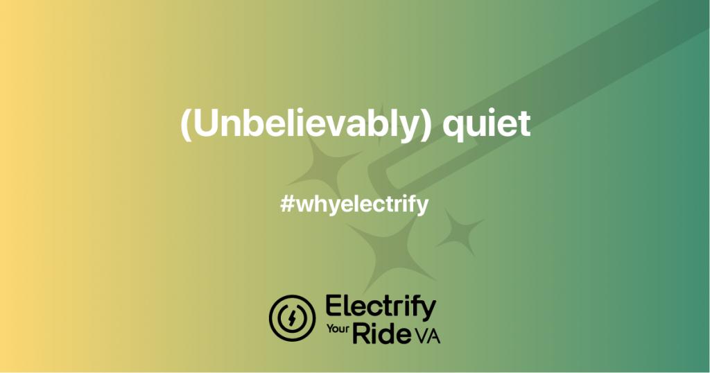 Electric cars: (unbelievably) quiet