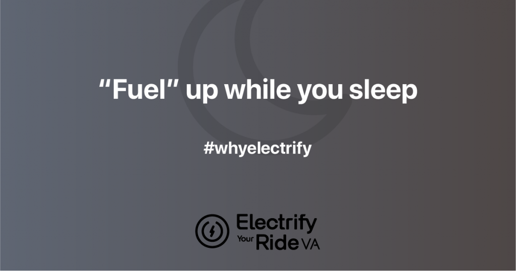 "Electric cars: ""fuel"" up while you sleep"