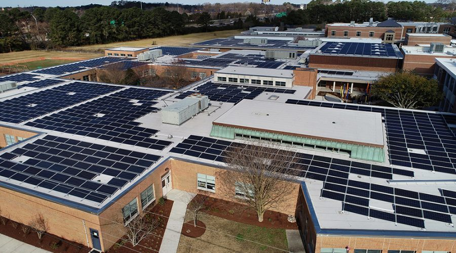 Parents Lead the Charge to Donate $1 Million Solar Array