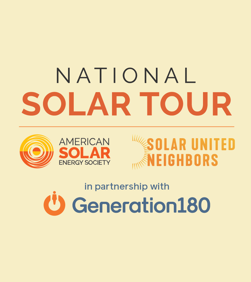 Join the virtual National Solar Tour this Fall