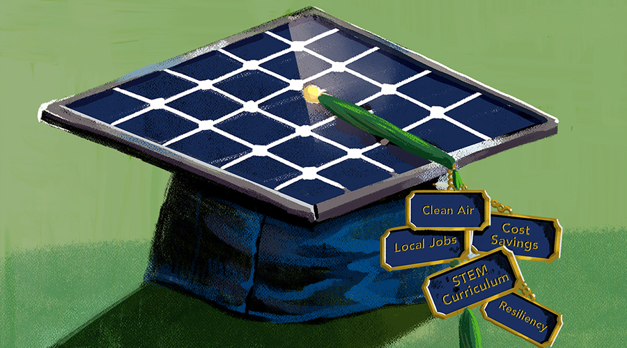 A surprising—and essential—ally during emergencies: solar schools