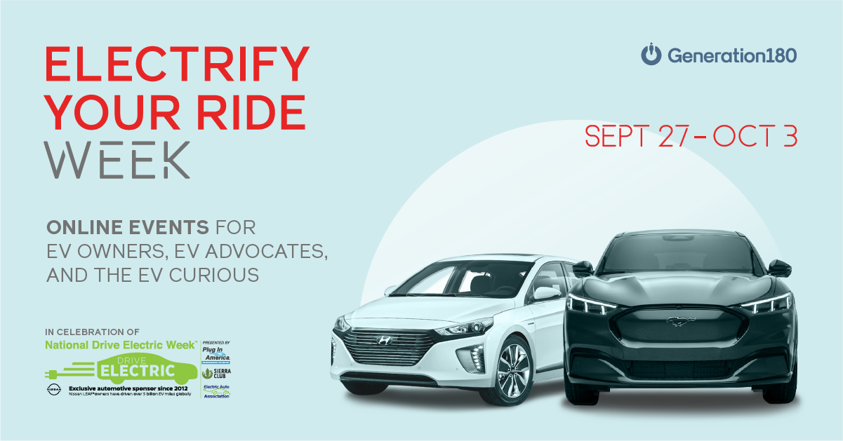 Event image for Electrify Your Ride week with electric vehicles