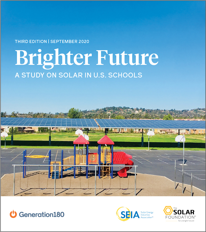 Reporting on Solar Trends at Nationwide Schools