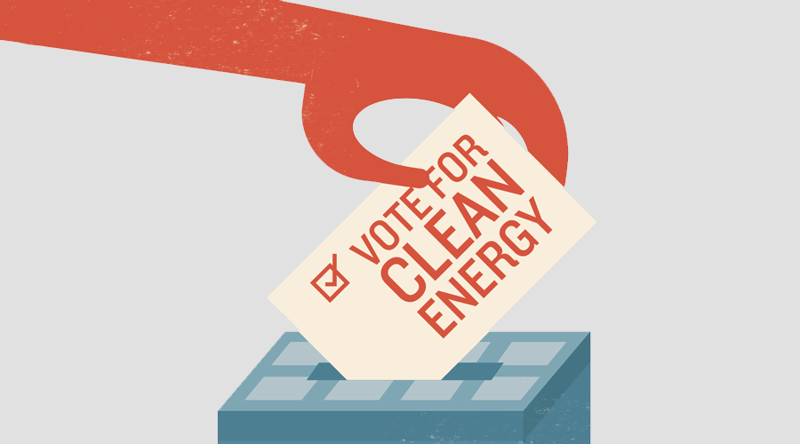 Clean energy is on the ballot this November