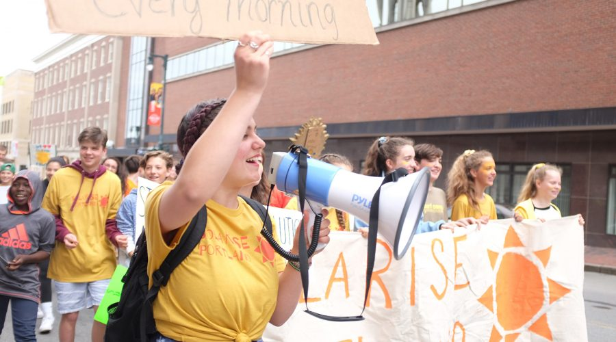 School and student leaders inspire action during National Solar Tour 2020