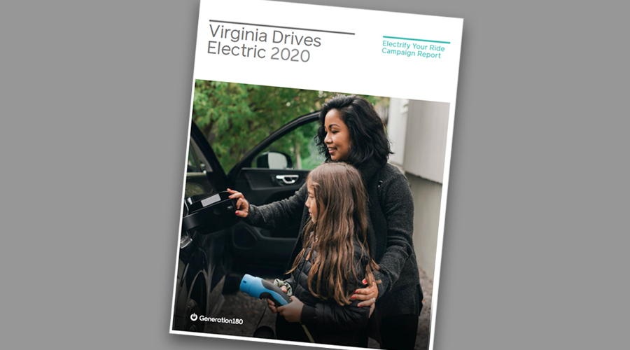 Cover of Virginia Drives Electric report