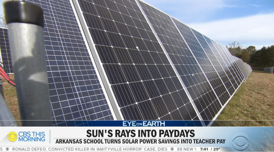 CBS This Morning spotlights Arkansas solar school