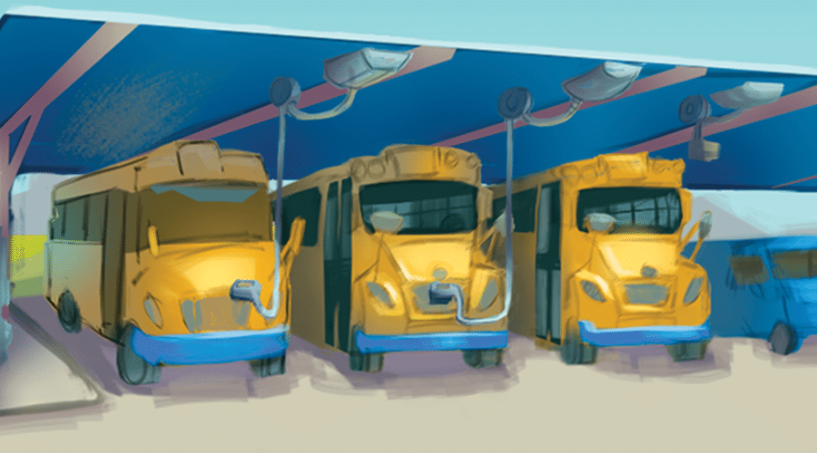 """Will the feds get an """"A"""" for electric school buses?"""