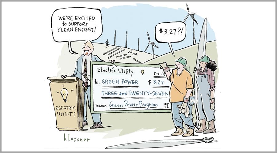 """Is my utility's """"green power program"""" bona fide or bogus?"""
