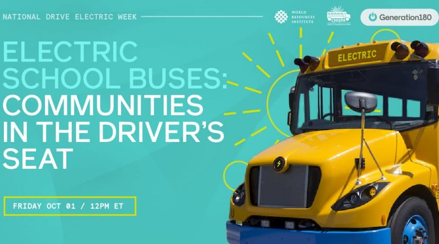 NDEW 2021: Electric School Buses: Communities in the Driver's Seat