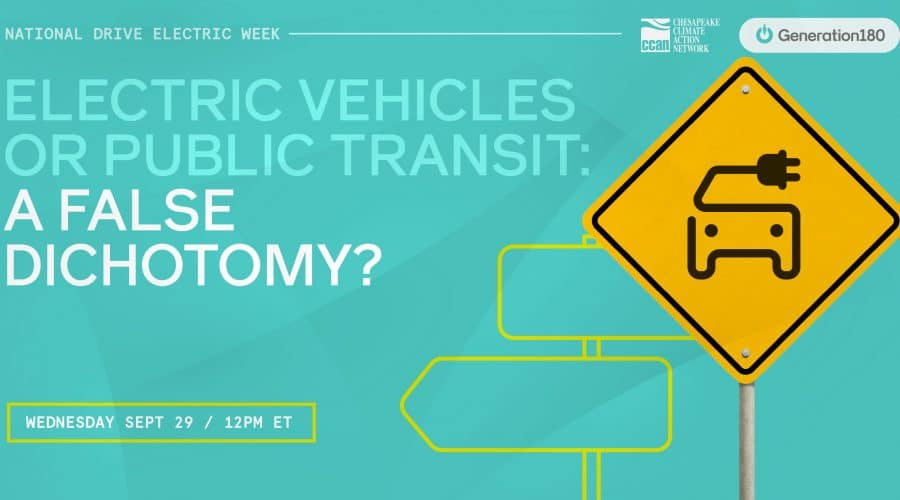 NDEW 2021: EVs or Public Transit: a False Dichotomy?