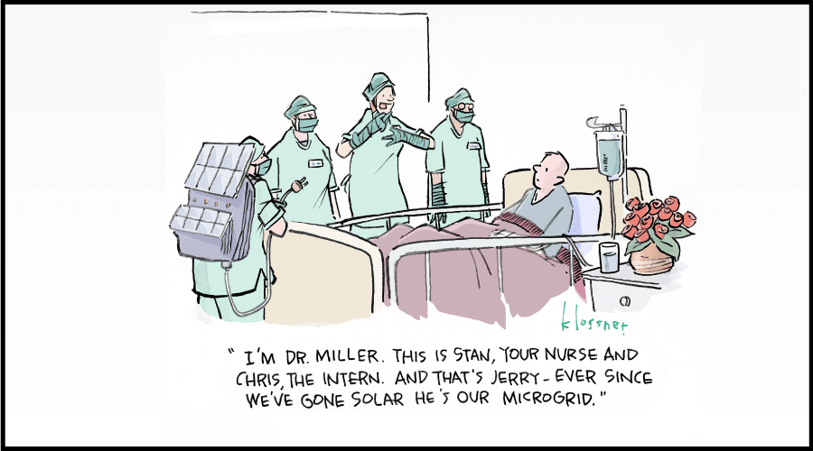 Solar and storage can help hospitals save money, and lives